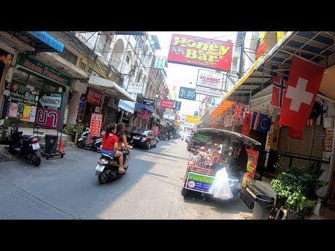 PATTAYA STREETS, SOI DIANA, SOI 13/1 & SOI 13, PATTAYA THAILAND