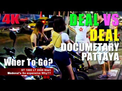 """Documentary """"Deal to Deal """" Strolling avenue Pattaya and Pattaya Coastline Avenue -Special Vlog 05"""