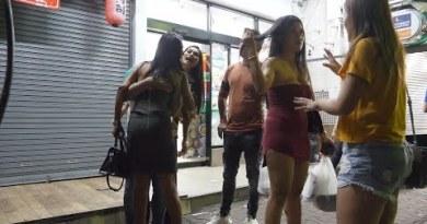 Excessive season is coming in walking boulevard pattaya