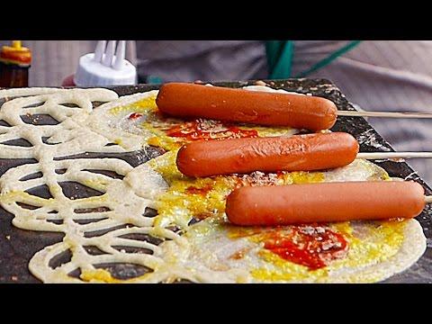 Thailand Boulevard Meals – THAI SNACKS Hot Dog Egg Cheese Bangkok