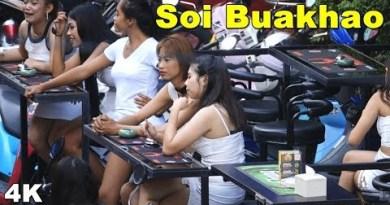 (4K) Pattaya Soi Buakhao – Evening of Thailand(Vlog #072)