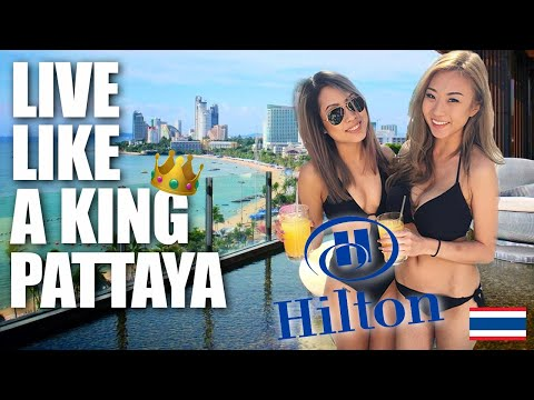 Pattaya Hilton Hotel Beach Street 2019 Overview 🇹🇭