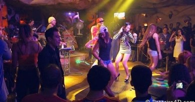 Disko Lucifer on Strolling Boulevard Pattaya 2013 Cool and tremendous Disco