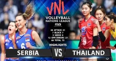 Serbia vs Thailand   Highlights   Ladies's VNL 2019