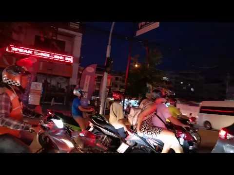 MC cruise from Jomtien to Soi 6 in Pattaya, Thailand