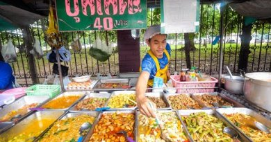 $1.29 Buffet – ALL YOU CAN EAT Thai Avenue Food in Bangkok, Thailand!