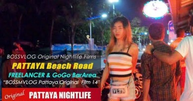 Discovering Freelancers On Pattaya Seashore Facet road at Evening – Pattaya Nightlife Long-established Movies 14