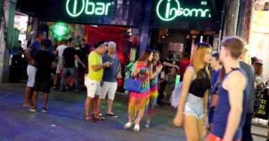 IBAR INSOMNIA NIGHT CLUB WALKING STREET PATTAYA,THAILAND