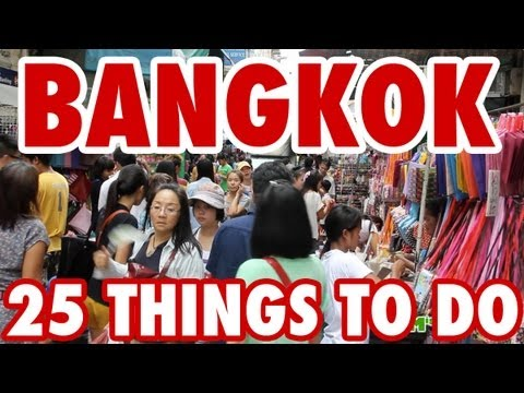 25 Improbable Issues To Attain in Bangkok, Thailand