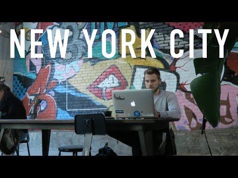 NOMADS IN NEW YORK CITY! (Outsite Brooklyn) | DIGITAL NOMAD VLOG 33