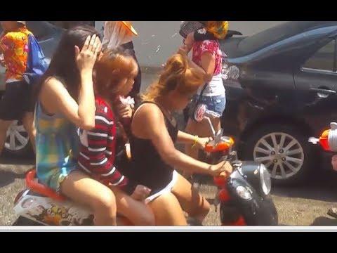 Songkran In Pattaya Soi 7 Thailand Water Festival Thai New Year – WHIBT
