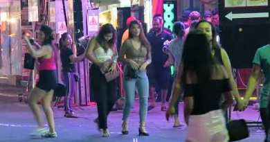 Nightlife on Walking Boulevard Pattaya