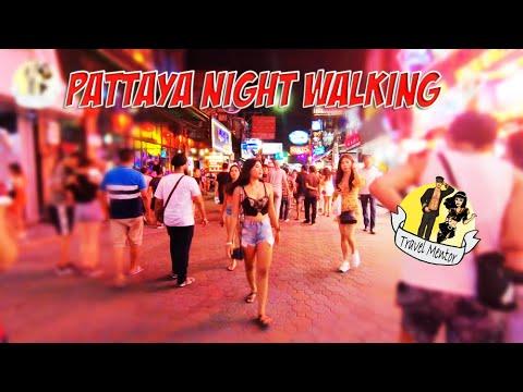 PATTAYA WALKING STREET NIGHT WALKING (Thailand)