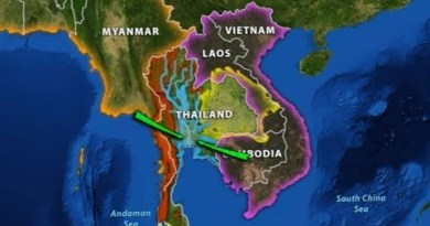 Thailand's Geographic Topic