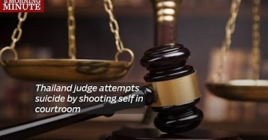 Thailand think makes an try suicide by shooting self in court