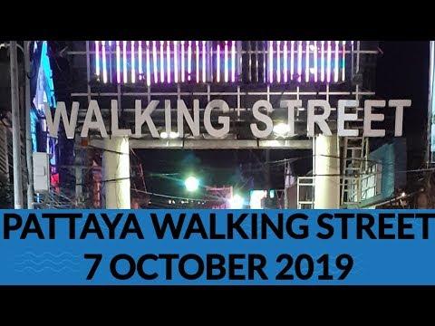 Pattaya walking aspect freeway evening 7 October 2019  stupid evening pattaya walking aspect freeway   thailand