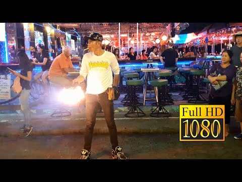 Pattaya Walking Boulevard Magic Options (Magic Uncover) Fat Hd Video. inn hotel pattaya