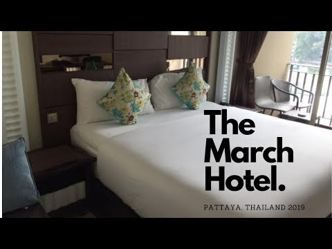 March Resort Pattaya, Thailand 2019 Resort room overview.