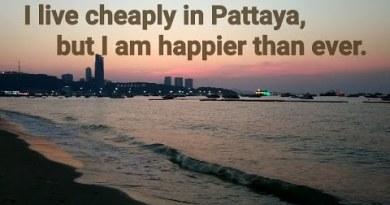 A frugal lifestyles in Pattaya Thailand