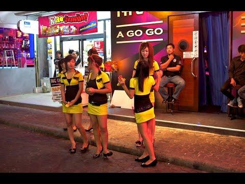 Pattaya Strolling Avenue Nightlife – Thailand 2017 HD