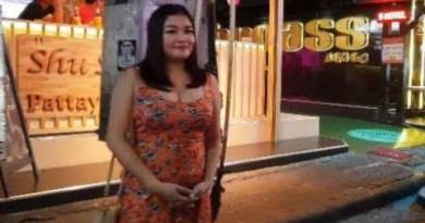 pattaya walking avenue thailand friday nigtht