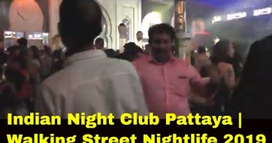 Walking Avenue Pattaya Night Golf equipment | Pattaya Walking Avenue Nightlife 2019