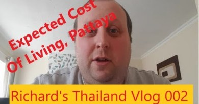 Vlog 002: Expected Value of dwelling, Pattaya
