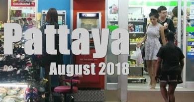 Pattaya August 2018