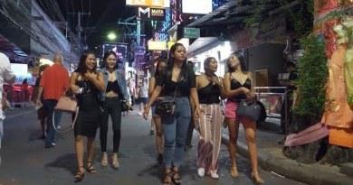 Girlvengers !! l Pattaya Strolling Avenue Evening Existence