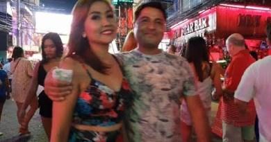 pattaya strolling street night video