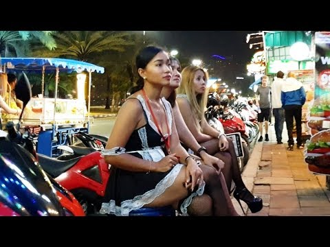 One Night in Pattaya Thailand or Mixture of Pattaya Streets
