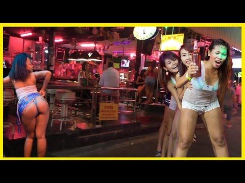 Pattaya Nightlife soi 8.  Ladyboys & gogo bars