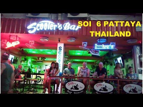 SOI  6  WEDNESDAY seventh FEBRUARY 2018 SOI  6  PATTAYA THAILAND