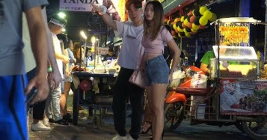 Pattaya Walking Boulevard Freelancers! Thailand Nightlife Scenes 2019