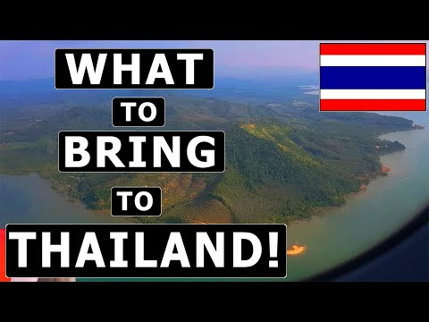 8 Things TO BRING (and NOT TO BRING) to THAILAND! – Packing Manual & Recommendations