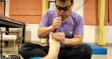 🇹🇭 $6 THAI BLIND FOOT MASSAGE in PATTAYA THAILAND by Kow   ASMR