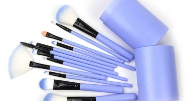 Cosmetic Brush Set 12 Cosmetic Brush Cylinder Cosmetic Drum Eyelash Brush Cosmetic Tool
