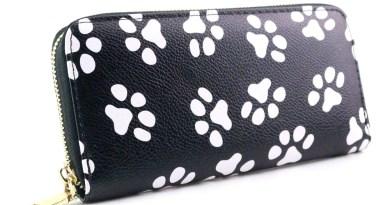 Women Clutch Pink Wallets Phone Pocket Purse Card Holder smile printer Women Long Wallet Lady Fashion Short Coin Burse