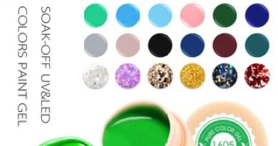 Venalisa UV Gel New 2019 Nail Art Tips Design Manicure 60 Color UV LED Soak Off DIY Paint Gel Ink UV Gel Nail Polishes Lacquer