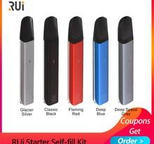 Electronic Cigarette Vape kit RUi Starter Self-fill pod kit 450mah Built-in battery 1.8ml Pod system kit vs MINIFIT/q16 pro