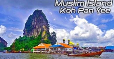 Muslim Island Contrivance Phuket Thailand – Koh Pan Yee Or Muslim Island- James Bond Island Tour, Phuket