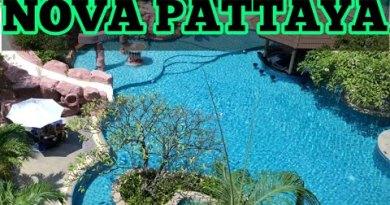 Nova Platinum Pattaya Hotel attain walking aspect twin carriageway