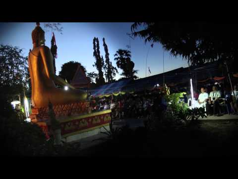 The Casting of a Buddha Statue Thailand