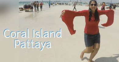 Coral Island Tour | Price of Parasailing and Sea Bed Walking in Pattaya|