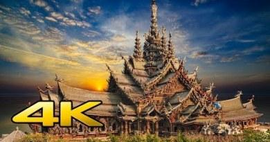 Sanctuary of Fact ,Pattaya ,Thailand in 4k UltraHd