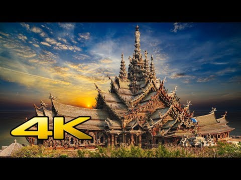 Sanctuary of Fact ,Pattaya ,Thailand in 4k UltraHd