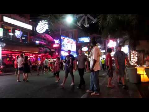 Candy Shop Walking Avenue Pattaya Nightlife – Barcode Band