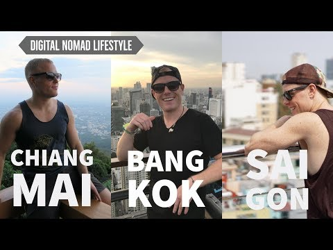 CHIANG MAI, BANGKOK or SAIGON? 🌴 My Digital Nomad E book – Cost of Residing, Nightlife, Coworking 2017