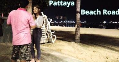 Pattaya Shoreline Avenue on Monday – Greater than 100 Freelancers