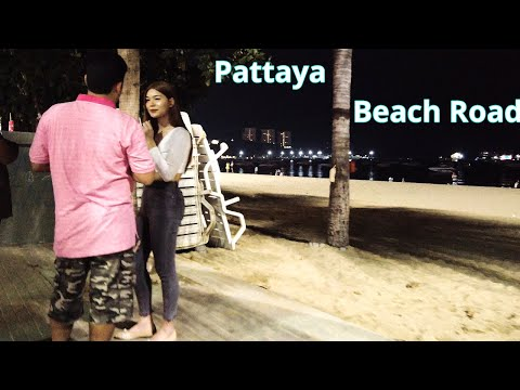 Pattaya Shoreline Avenue on Monday – Greater than 100 Freelancers